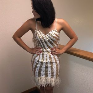 Party Time Formal size 4 homecoming pageant prom